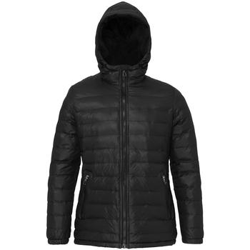 Vêtements Femme Doudounes 2786 Hooded Noir/Noir
