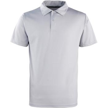 Vêtements Polos manches courtes Premier PR612 Gris argent