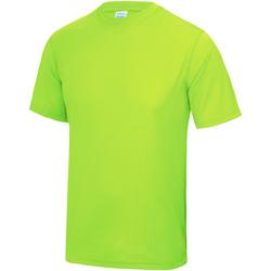 Vêtements Enfant T-shirts manches courtes Just Cool JC01J Vert électrique
