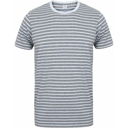 Vêtements Musse & Cloud Skinni Fit Striped Gris chiné/Blanc