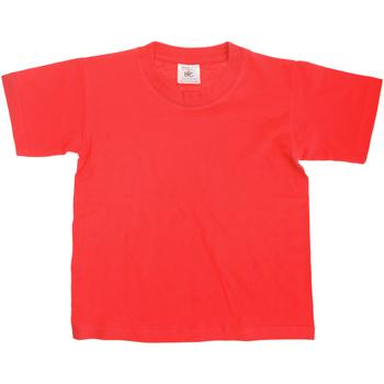 Vêtements Enfant T-shirts manches courtes B And C Exact 150 Rouge