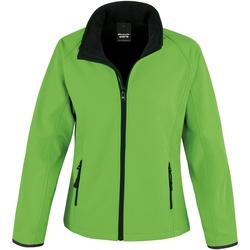 Vêtements Femme Polaires Result R231F Vert/Noir