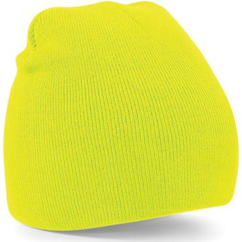 Accessoires textile Bonnets Beechfield B44 Jaune fluo