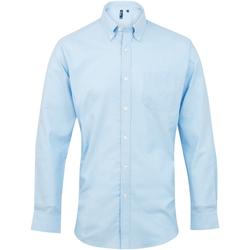 Vêtements Homme Chemises manches longues Premier Oxford Bleu clair