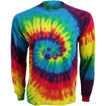 Vêtements T-shirts manches longues Colortone TD15M Arc-en-ciel