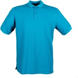 Vêtements Homme Polos manches courtes Henbury HB101 Bleu sarcelle