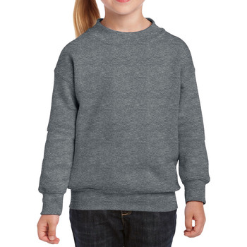 Vêtements Enfant Sweats Gildan 18000B Graphite chiné