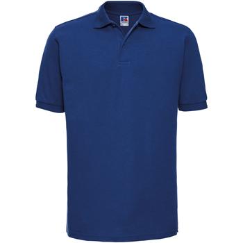 Vêtements Homme Polos manches courtes Russell Polo à manches courtes BC572 Bleu roi vif