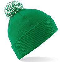 Accessoires textile Fille Bonnets Beechfield Snowstar Vert/blanc