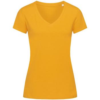 Vêtements Femme T-shirts manches courtes Stedman Stars Janet Jaune foncé