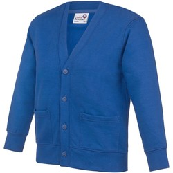 Vêtements Enfant Gilets / Cardigans Awdis Button Up Bleu roi