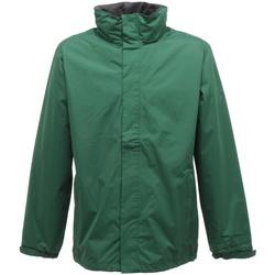 Vêtements Homme Coupes vent Regatta TRW461 Vert bouteille/Gris