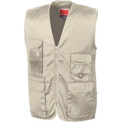 Vêtements Homme Gilets / Cardigans Result R45X Beige