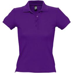 Vêtements Femme Polos manches courtes Sols Pique Violet