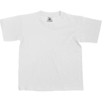 Vêtements Enfant T-shirts manches courtes B And C Exact Blanc