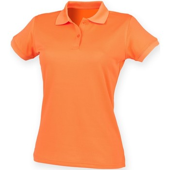 Vêtements Femme Polos manches courtes Henbury Coolplus Orange brûlé