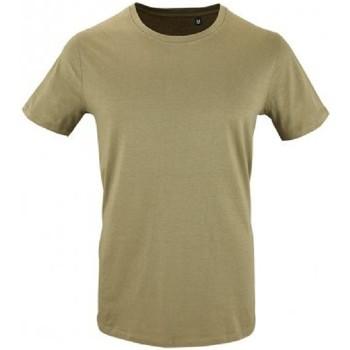 Vêtements Homme T-shirts manches courtes Sols Milo Kaki