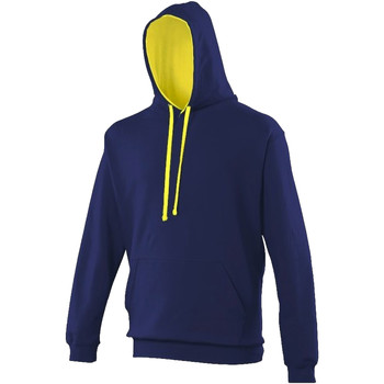 Vêtements Sweats Awdis Hooded Bleu marine / jaune