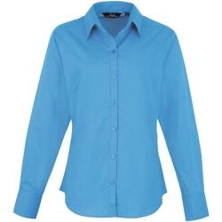 Vêtements Femme Chemises / Chemisiers Premier Poplin Bleu