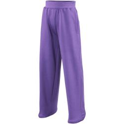 Vêtements Enfant Pantalons fluides / Sarouels Awdis  Pourpre