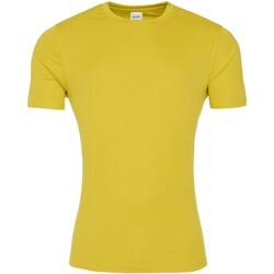 Vêtements Homme T-shirts manches courtes Awdis JC020 Jaune soleil
