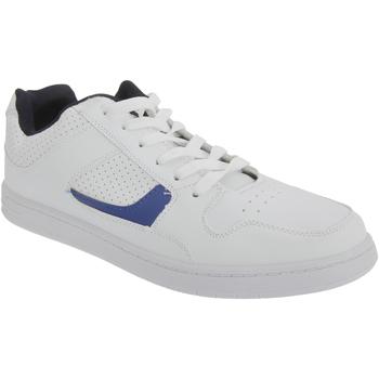 Chaussures Homme Baskets basses Dek Euston Blanc/Bleu marine