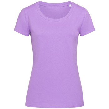 Vêtements Femme T-shirts manches courtes Stedman Stars Organic Lavande