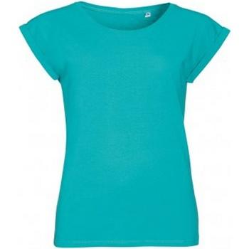 Vêtements Femme T-shirts manches courtes Sols Melba Turquoise