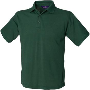 Vêtements Homme Polos manches courtes Henbury HB400 Vert bouteille