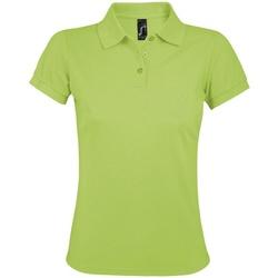 Vêtements Femme Polos manches courtes Sols Prime Vert clair