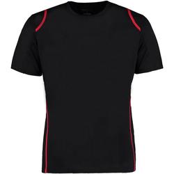 Vêtements Homme T-shirts manches courtes Gamegear Cooltex Noir/Rouge