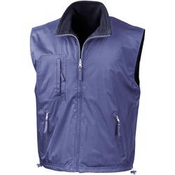 Vêtements Homme Gilets / Cardigans Result RE61A Bleu roi/Bleu marine