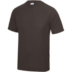 Vêtements Homme T-shirts manches courtes Awdis JC001 Chocolat