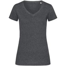 Vêtements Femme T-shirts manches courtes Stedman Stars Melange Charbon chiné