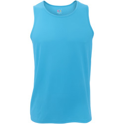 Vêtements Homme Débardeurs / T-shirts sans manche Fruit Of The Loom Performance Bleu azur