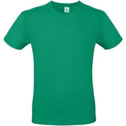 Vêtements Homme T-shirts manches courtes B And C E150 Vert