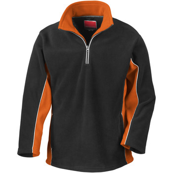 Vêtements Homme Polaires Result Windproof Noir/Orange