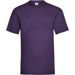 Vêtements Homme T-shirts manches courtes Universal Textiles 61036 Raisin