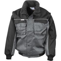 Vêtements Homme Blousons Result R71X Gris/Noir
