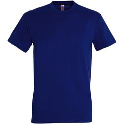 Vêtements Homme T-shirts manches courtes Sols Imperial Bleu vif