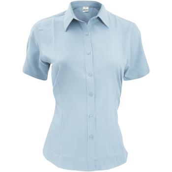 Vêtements Homme Chemises manches courtes Henbury HB596 Bleu clair