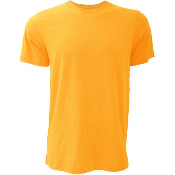 Vêtements Homme T-shirts manches courtes Bella + Canvas Jersey Jaune