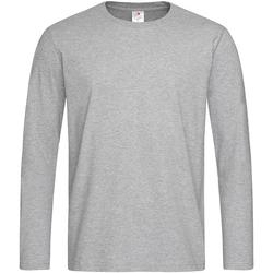Vêtements Homme T-shirts manches longues Stedman Comfort Gris