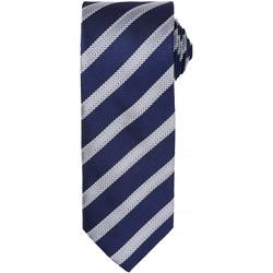 Vêtements Homme Cravates et accessoires Premier Formal Bleu marine/Argent