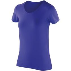 Vêtements Femme T-shirts manches courtes Spiro Softex Saphir