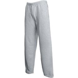 Vêtements Homme Pantalons de survêtement Fruit Of The Loom 64032 Gris clair