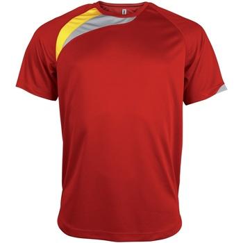 Vêtements Homme T-shirts manches courtes Kariban Proact Proact Rouge/Noir/Gris