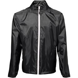 Vêtements Homme Coupes vent 2786 Contrast Noir/Blanc