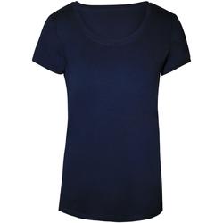 Vêtements Femme T-shirts manches courtes Stedman Stars Megan Bleu foncé