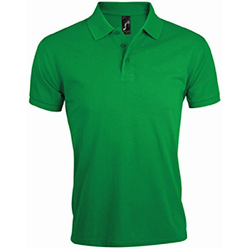 Vêtements Homme Polos manches courtes Sols Prime Vert